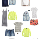 10 Pieces, 20 Outfits for Summer