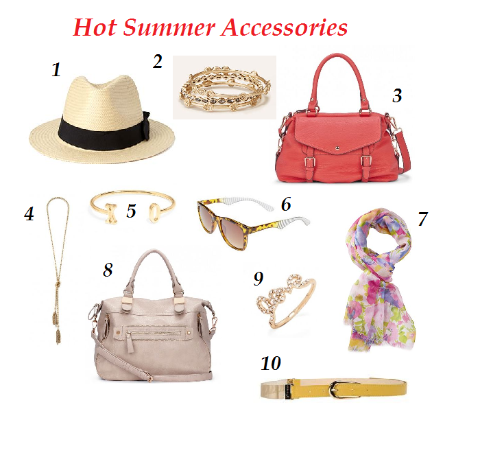 Accessory Cravings for Summer