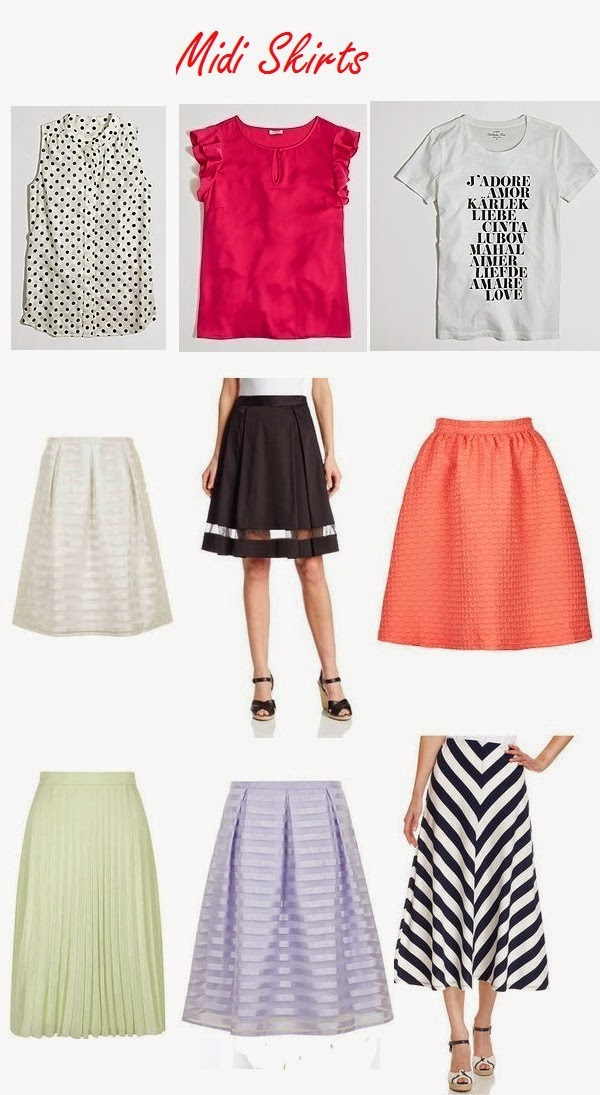 Midi Skirt Choices