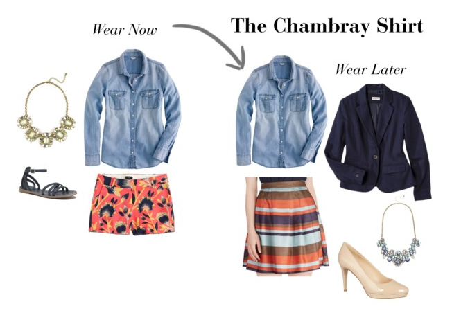 The Chambray Shirt: Wear Now, Wear Later