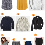 How To Create A Fall Work Wardrobe: 10 Wardrobe Essentials Part 1