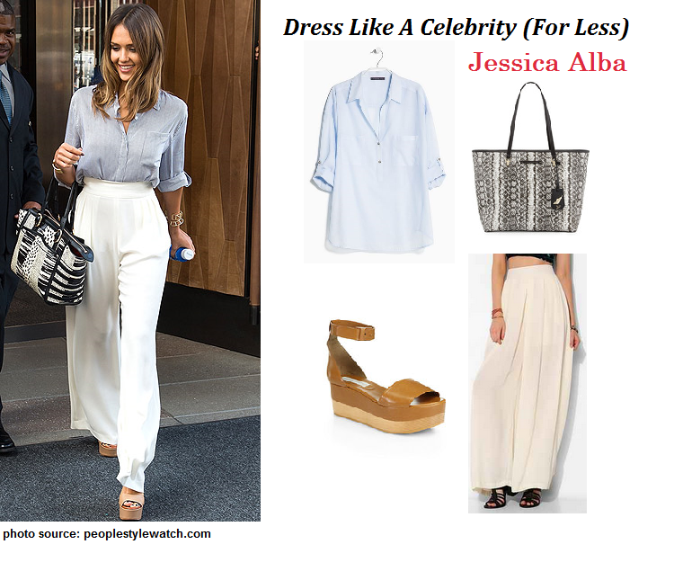 Dress Like a Celebrity: Jessica Alba