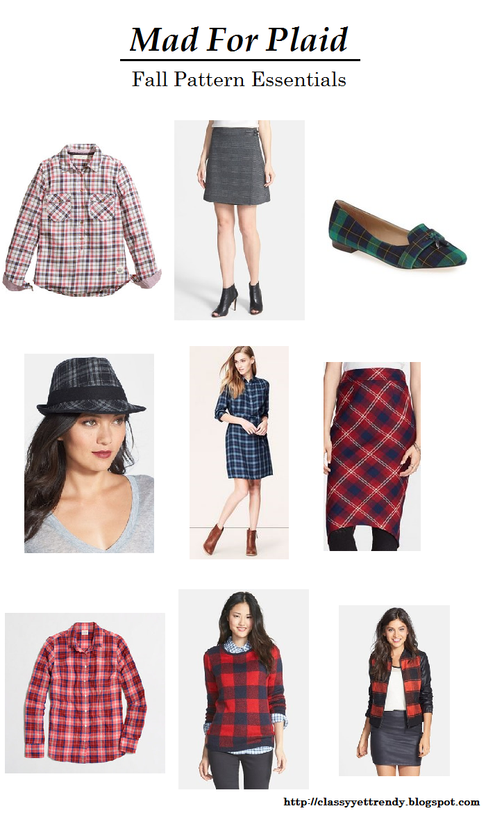Mad For Plaid: Fall Pattern Essentials