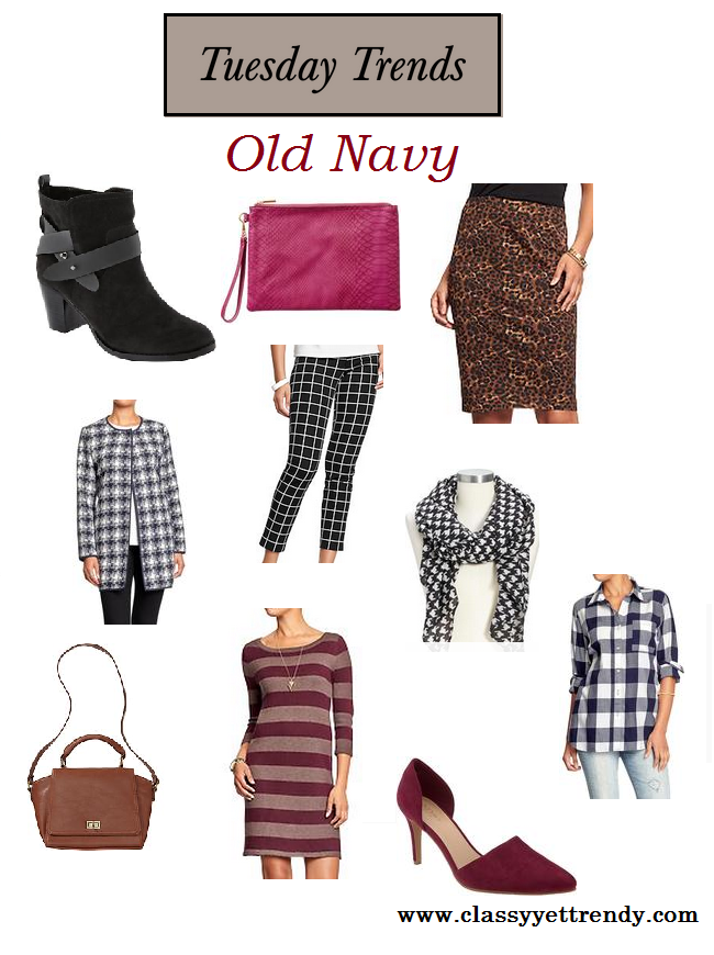 Tuesday Trends: Old Navy