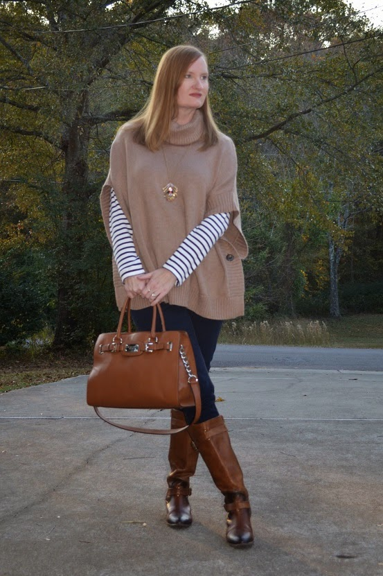 Confident Twosday Co-Host Linkup: Fall Trend – Sweater Poncho