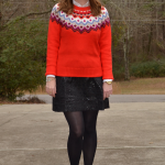 Trendy Wednesday Link Up #5: Festive Fair Isle