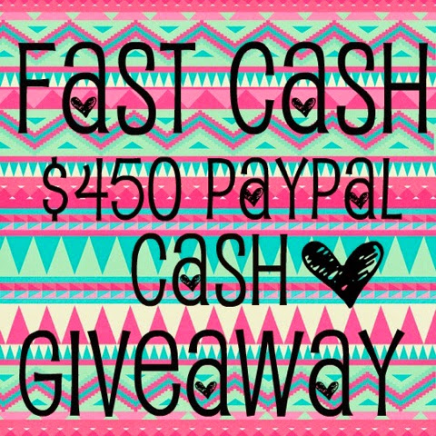 Instagram PayPal Cash Giveaway