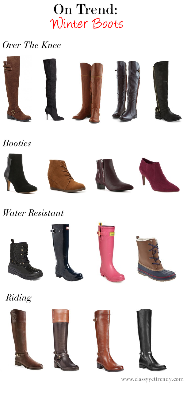 On Trend: Winter Boots