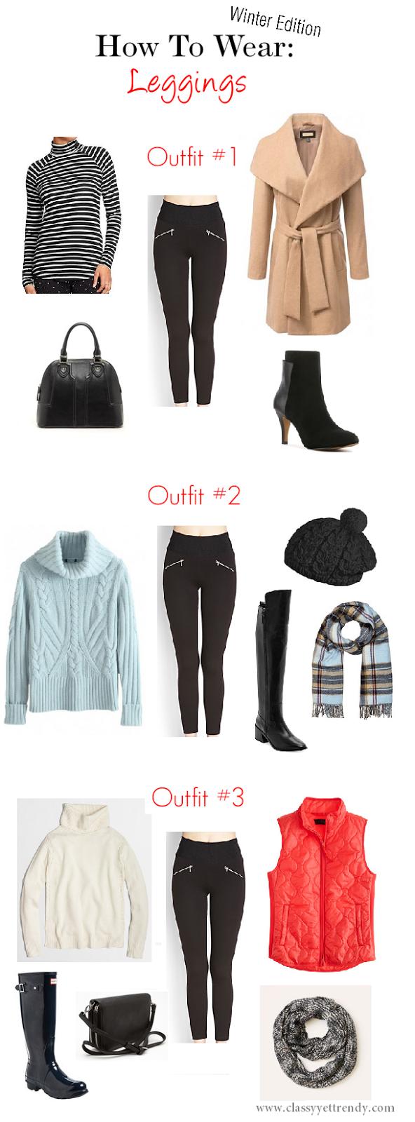 How To Wear Leggings 3 Ways , Classy Yet Trendy