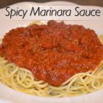 Spicy Marinara Sauce