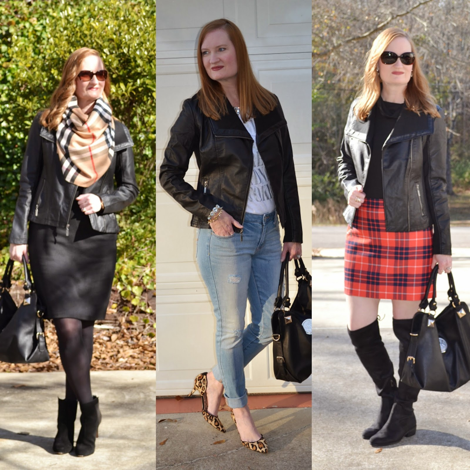 3 Ways to Wear a Leather Moto Jacket