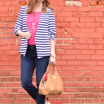 Ready for Spring w/ Stripes & Pink
