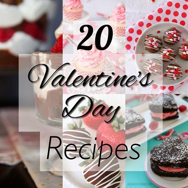 Recipe Roundup: 20 Valentine's Day Recipes