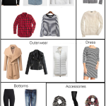 Create A Winter Wardrobe: 21 Pieces – 30 Outfits