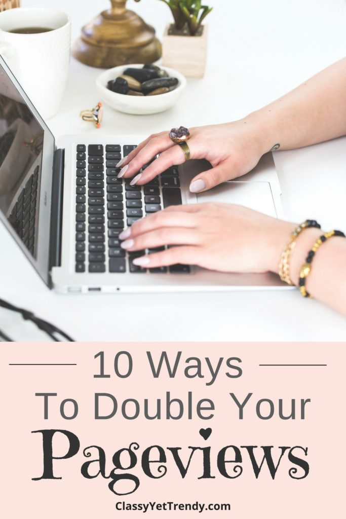 10 Ways To Double Your Page Views