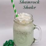Mix It Up Friday Link Up #3: Mint Chocolate Shamrock Shake