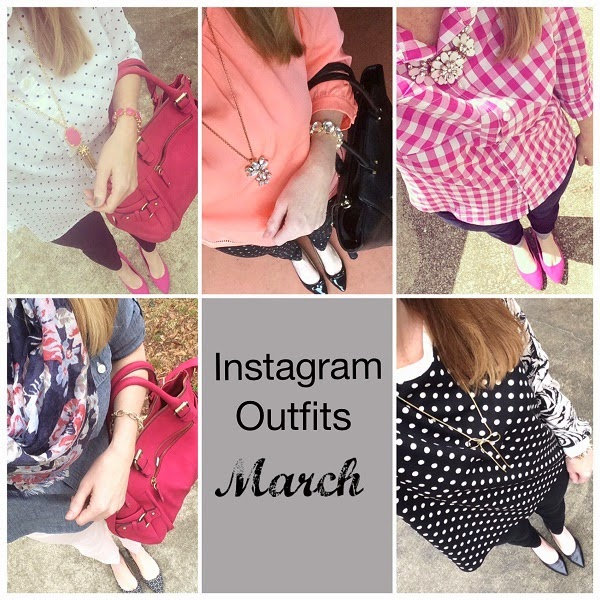 Instagram Outfits: March