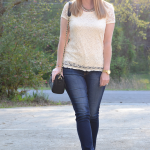 Trendy Wednesday #18: Ivory Lace Tee & Rocksbox