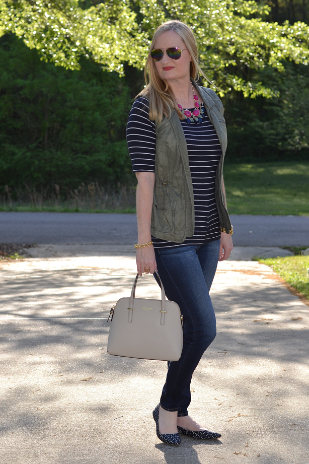 Stripes & A Utility Vest