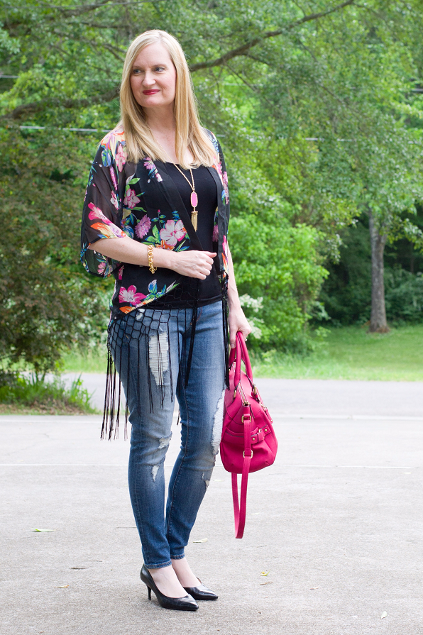 Trendy Wednesday Link Up #23: Spring Kimono