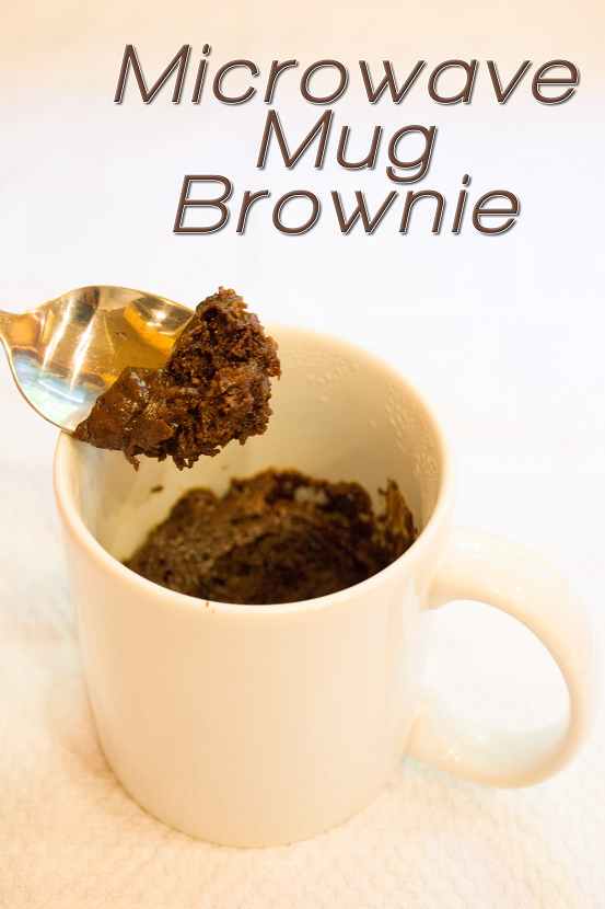 Mix It Up Friday #10: Microwave Mug Brownie