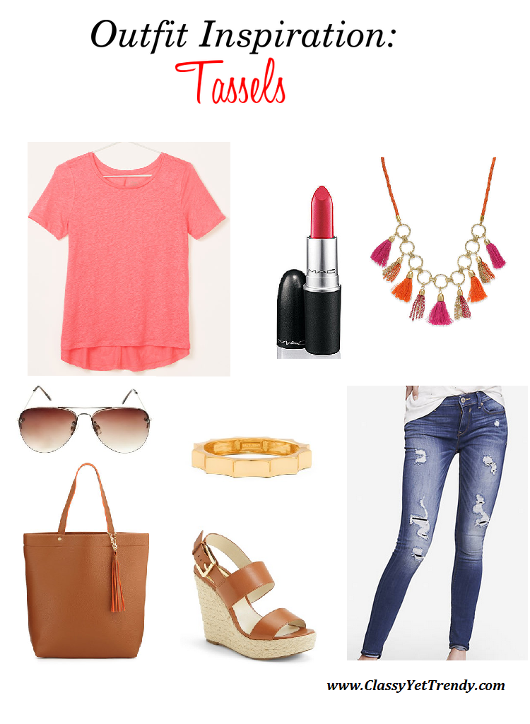 Mix It Up Friday #11: Outfit Inspiration: Tassels