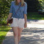 Trendy Wednesday Link-up #29: Chambray, Eyelet & Ikwetta