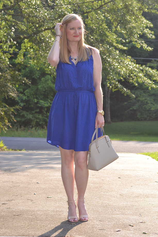 Trendy Wednesday Link Up #27: Perfect Blue Dress