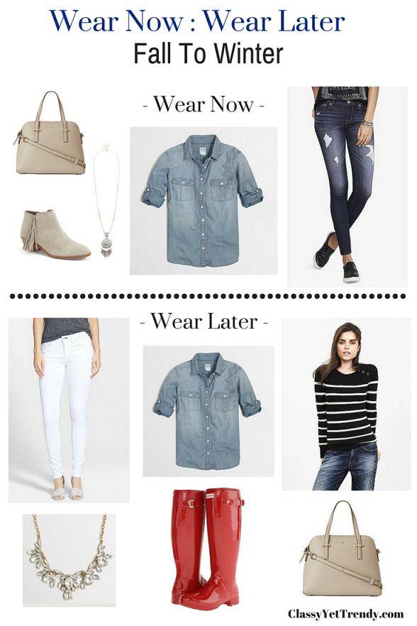 Wear Now : Wear Later (Fall To Winter)