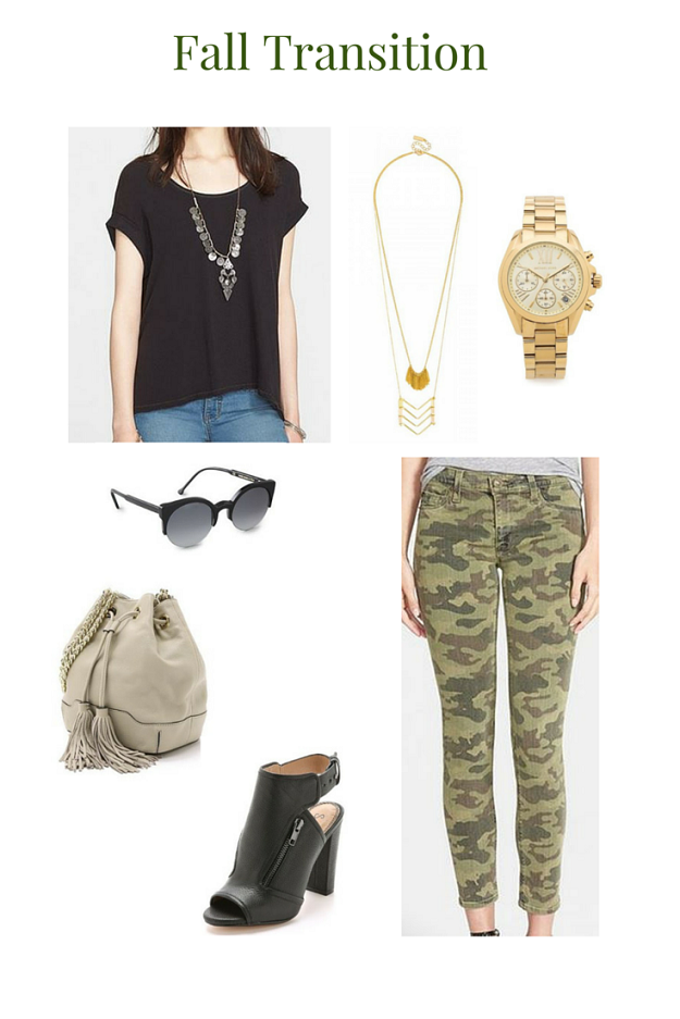 Trendy Wednesday Link-up #39: Fall Transition Outfit