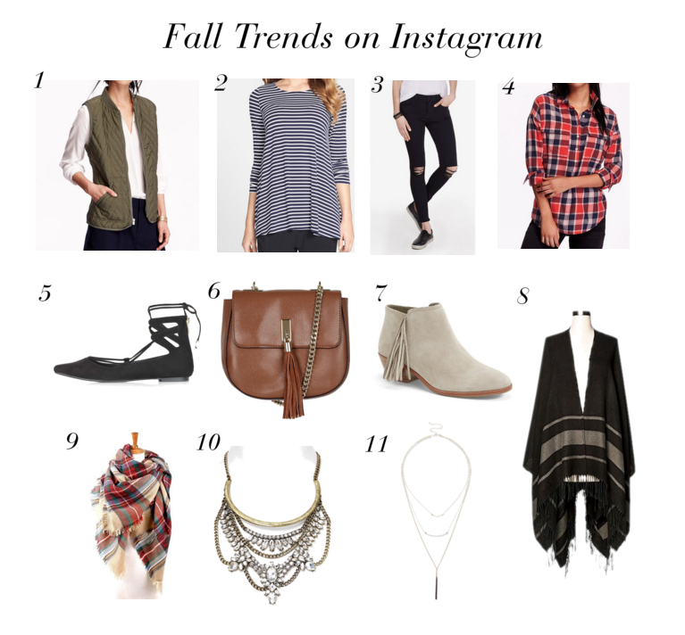 11 Fall Trends on Instagram