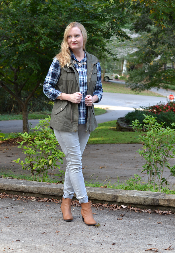 Trendy Wednesday Link-up #42: Plaid and A New Utility Vest ...