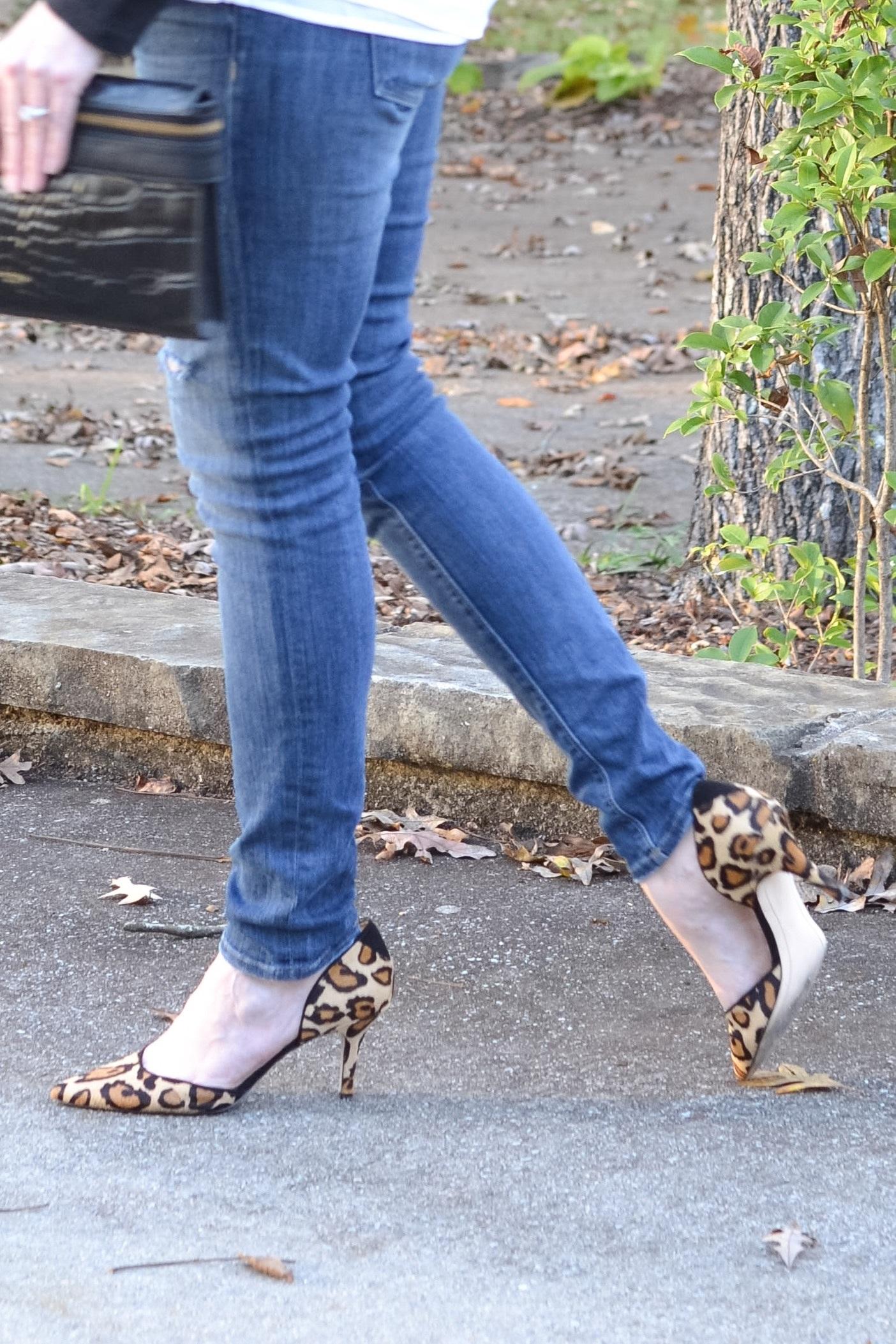 moto jacket leopard shoes 3