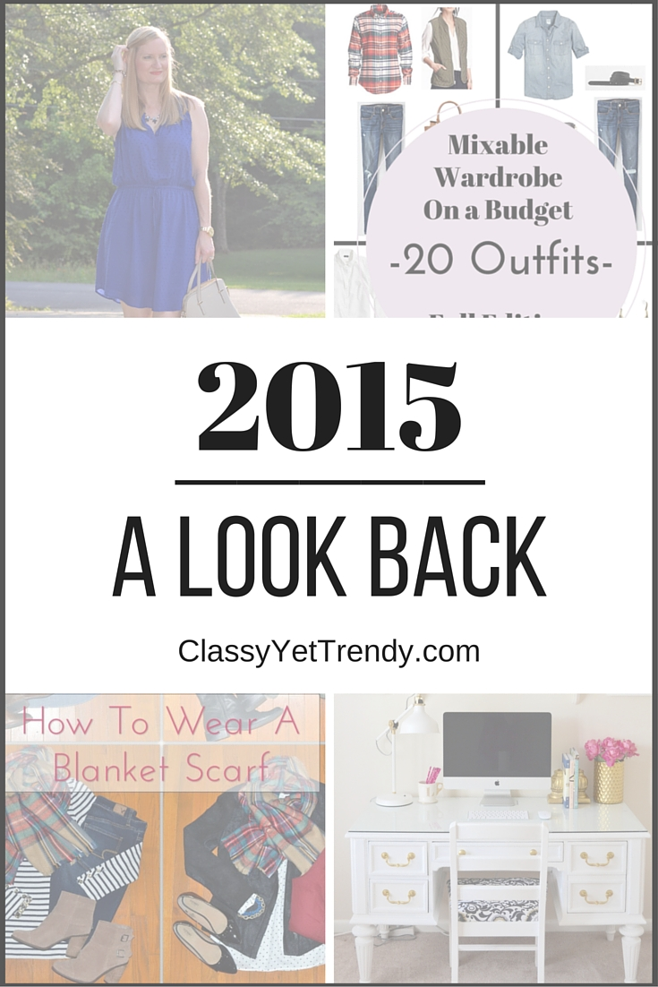 A review of 2015 on Classy Yet Trendy