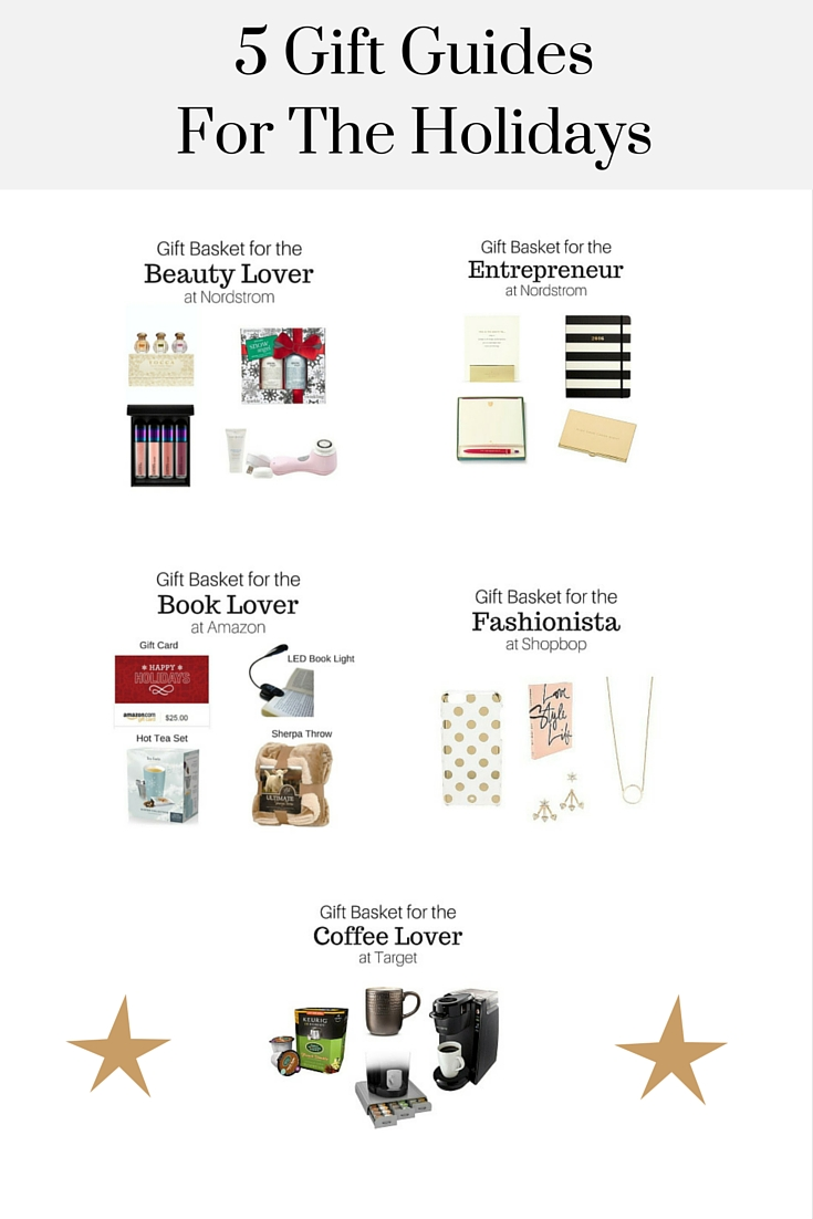 5 Gift Guides For The Holidays