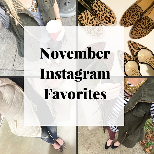 Trendy Wednesday Link-up #50: November Instagram Outfits