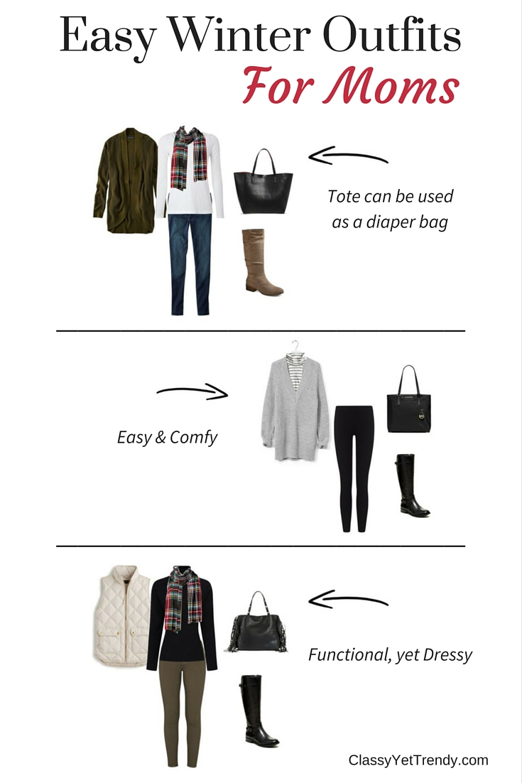 Easy Winter Outfits For Moms