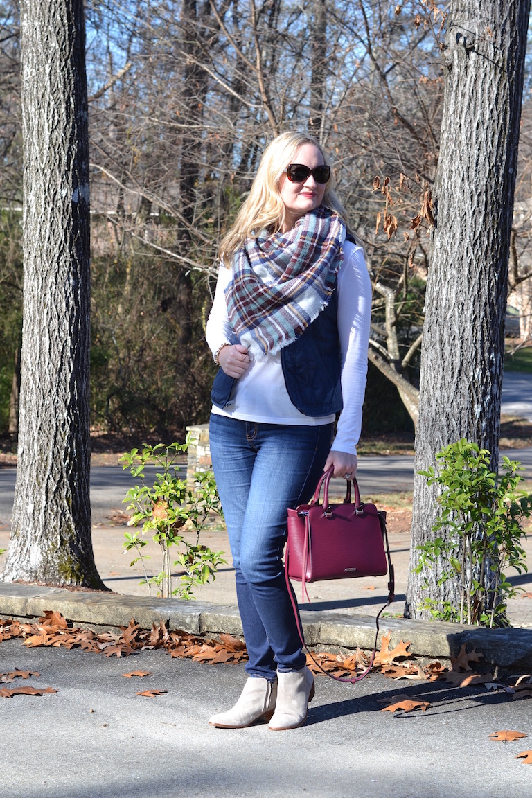 blue and burgundy outfit 2