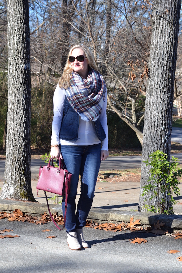 blue and burgundy outfit 5