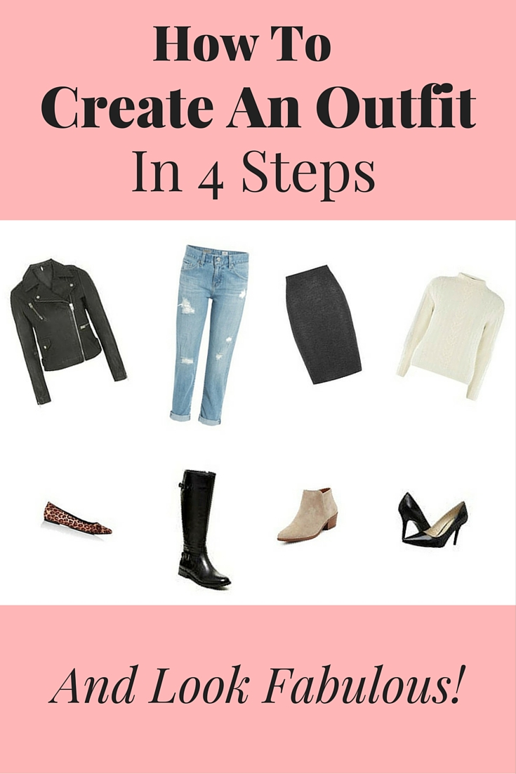 How To Create An Outfit In 4 Steps!