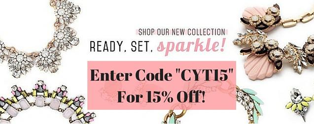 "ShopCherryPick.com, promo code ""CYT15"""