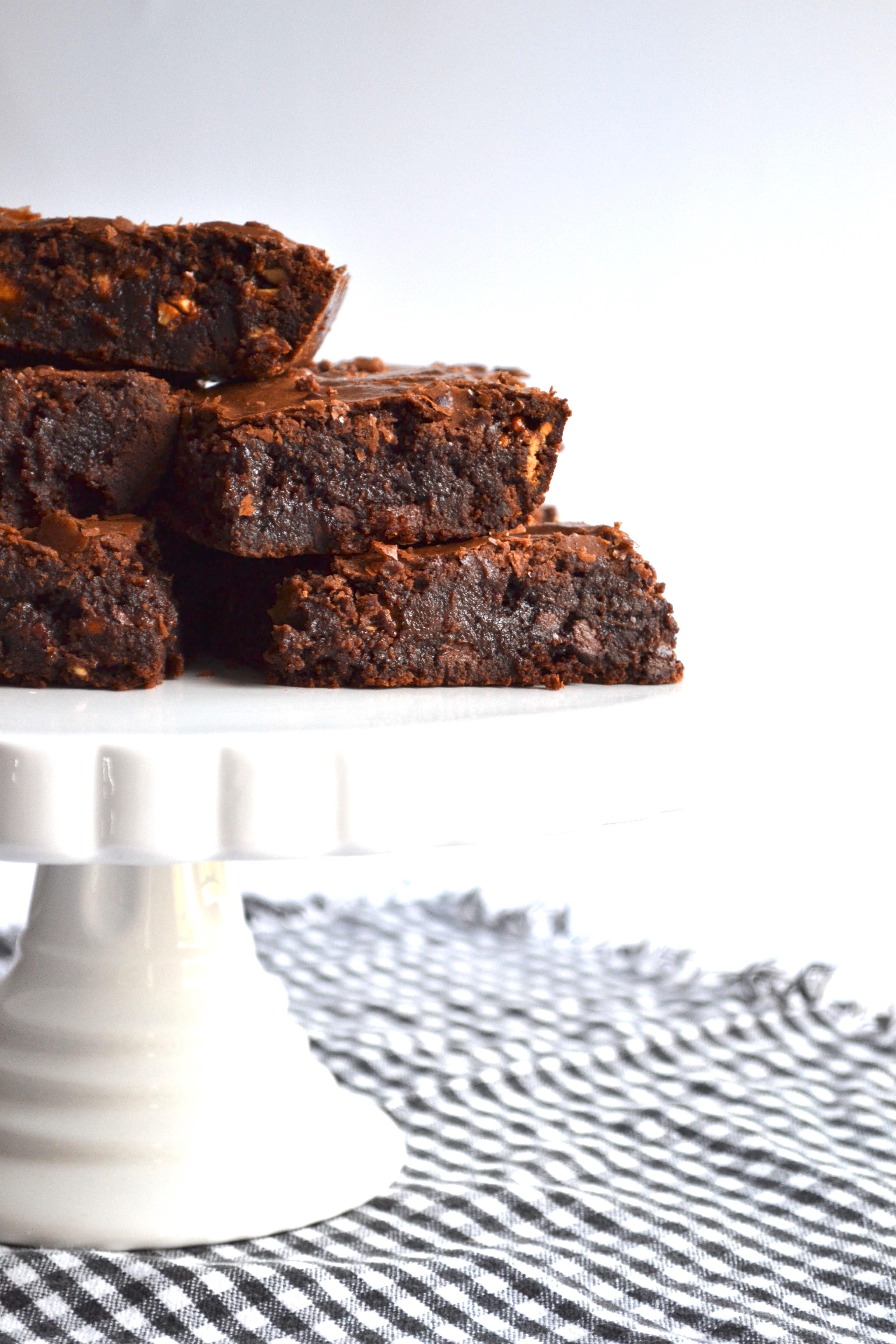 Snickers Fudge Brownies 10