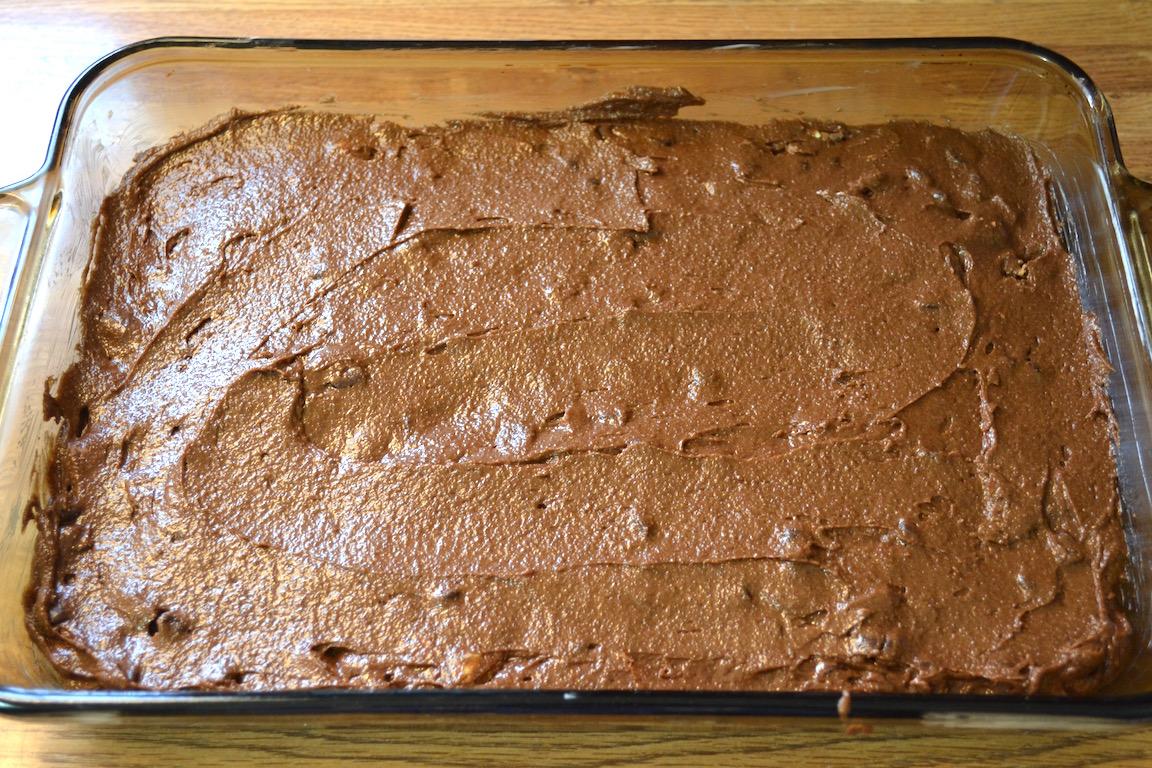 Snickers Fudge Brownies 5