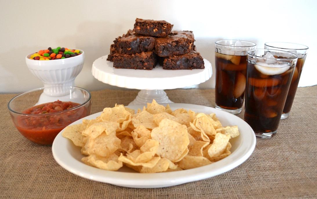 Snickers Fudge Brownies 7