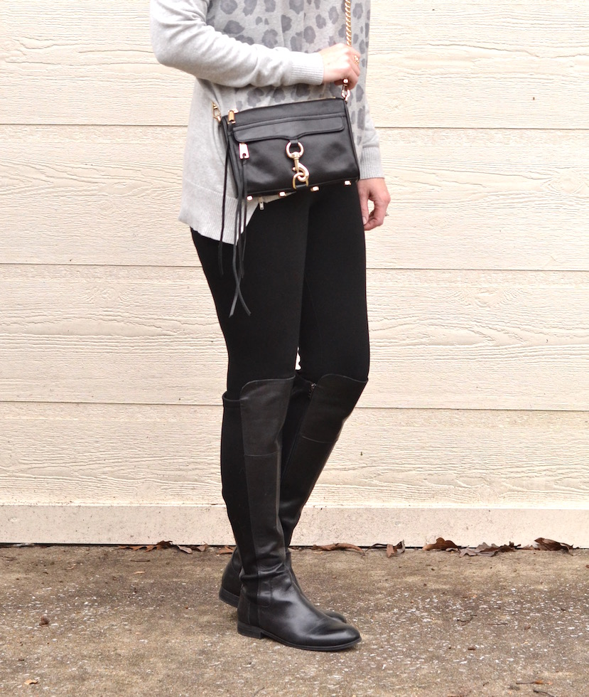 black and gray leopard 4