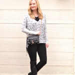Black With Gray Leopard (Trendy Wednesday Link-up #54)