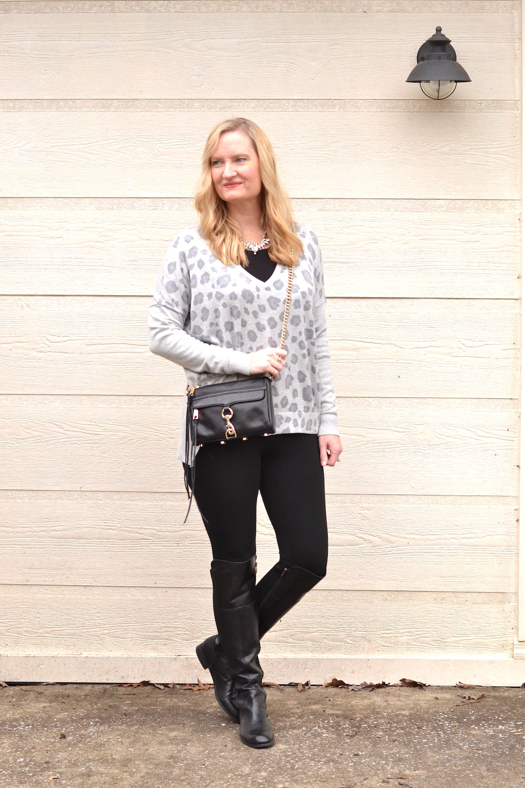 black and gray leopard 5