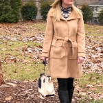 Black, White and Camel (Trendy Wednesday Link-up #57)