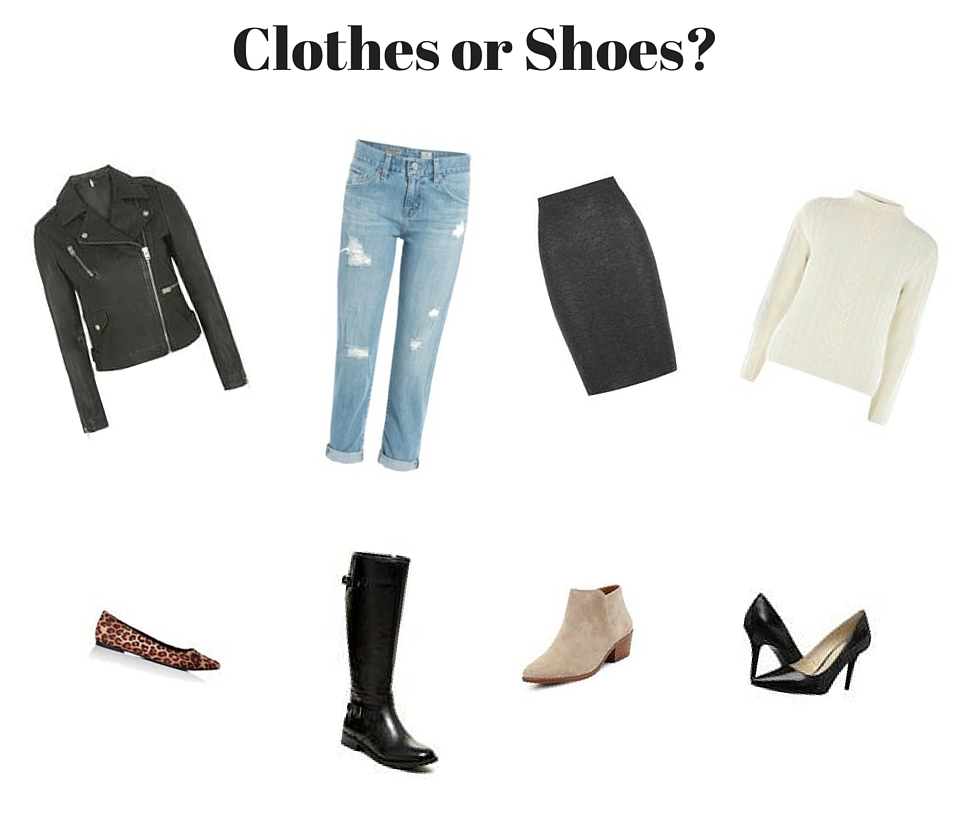clothes or shoes