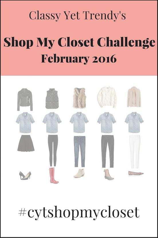 February Shop My Closet Challenge: #cytshopmycloset